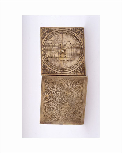 Astronomical compendium, leaves IIIb and Ia by unknown