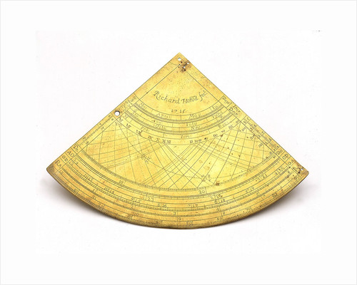 Obverse of Gunter quadrant by Richard Howard