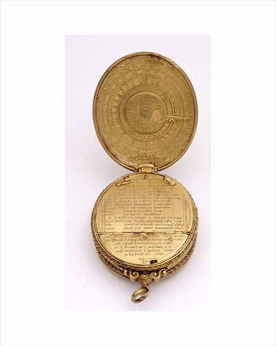 Astronomical compendium, all leaves by Humphrey Cole