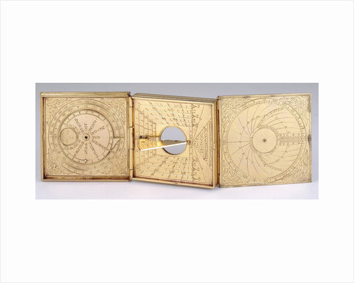 Astronomical compendium, leaves Ib, IIa and IIIb by Christoph Schissler