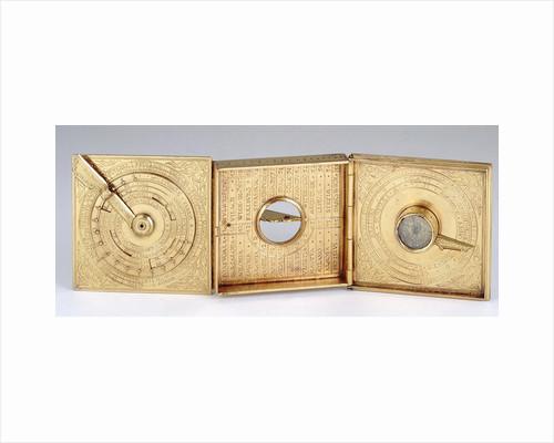 Astronomical compendium, leaves Ia, IIb and IIIa by Christoph Schissler