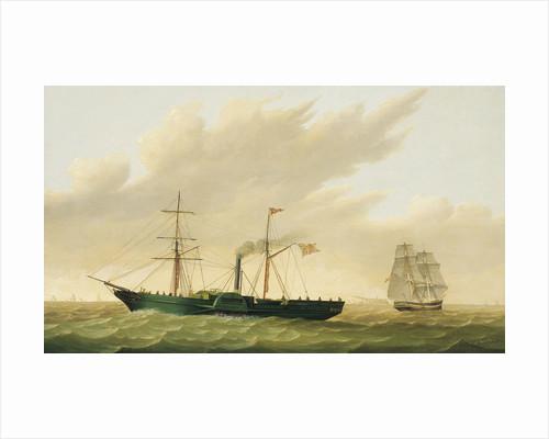 Paddle steamer 'Sirius' by Samuel Walters