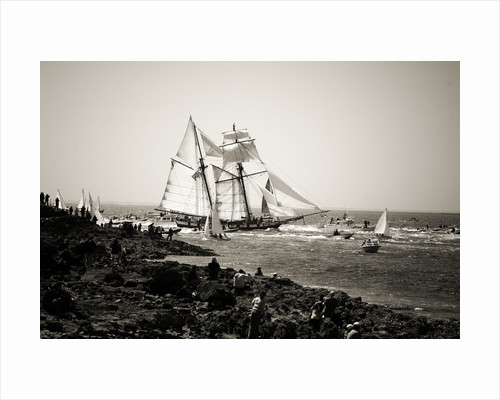 'La Recouvrance', during Semaine du Golfe 2007, Brittany by Richard Sibley