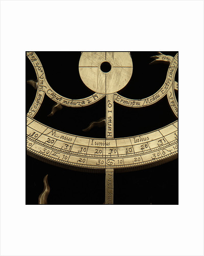 Astrolabe: detail June/July by Michael D. Piquer