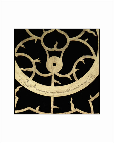 Astrolabe: signature by Michael D. Piquer