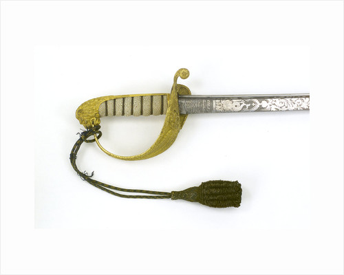 Presentation sword, which belonged to the Honourable Captain Robert Gore (1810-1854) by Dudley