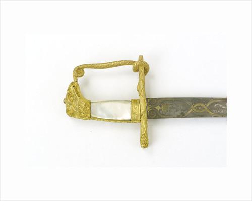 Hilt of sword, presentation by Tatham