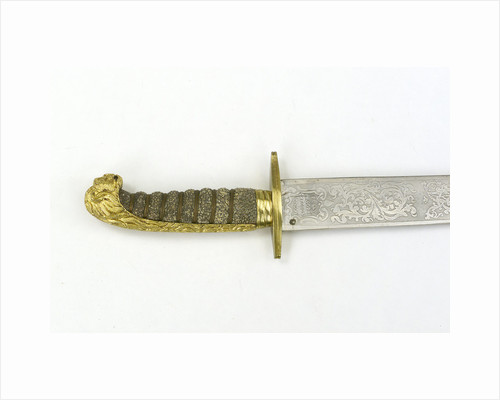 Hilt of dirk, after 1856 by Reilly