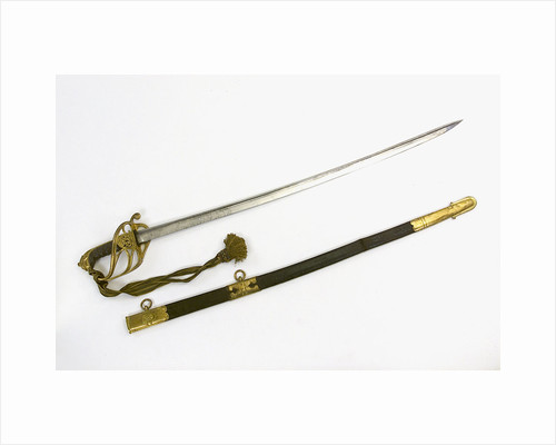 Half-basket hilted Army sword by Hebbert & Hume