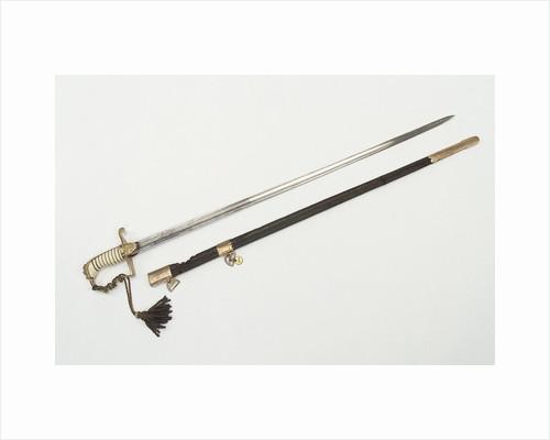 Stirrup hilted sword by J.F. Runkel