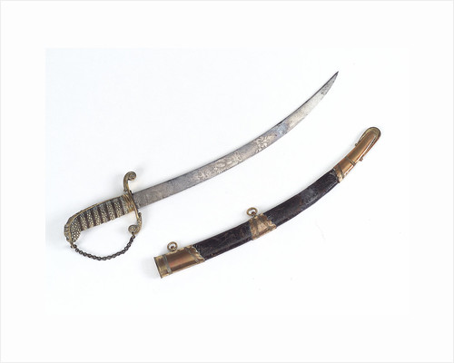 Curved bladed dirk by unknown
