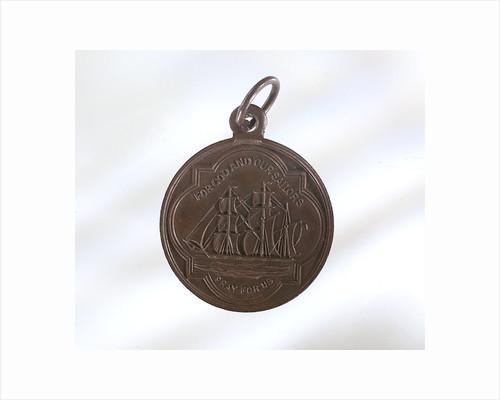 Medallion - obverse by unknown