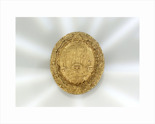 Gilt metal buckle by unknown