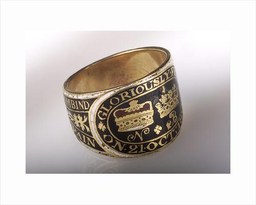 Mourning ring by John Salter