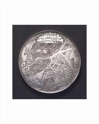 Medal commemorating the Spanish fleet captured at the Slaak, 1631; obverse by J. Looff