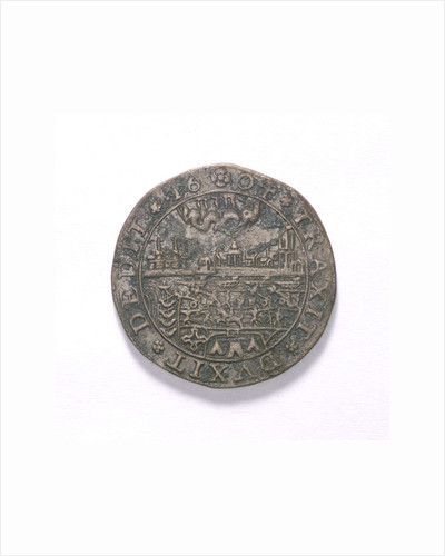 Counter commemorating the Spanish defeat off Sluys, 1603; obverse by unknown