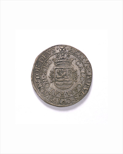 Counter commemorating the Spanish defeat off Sluys, 1603; reverse by unknown