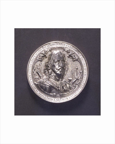 Medal commemorating the Battle of the Four Days and Admiral Evertsen, 1666; obverse by O.M.