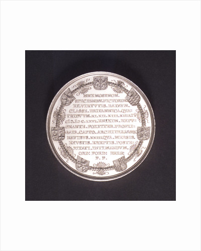 Medal commemorating the Battle of the Four Days, 1666; reverse by C. Adolfszoon