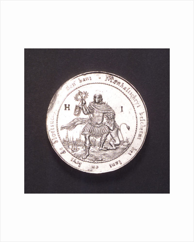 Medal commemorating the Battle of the Four Days, 1666; obverse by van der Wey