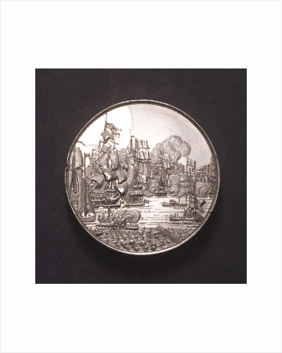 Medal commemorating the Battle of the Four Days, 1666; obverse by J. Pool