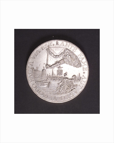 Medal commemorating the Peace of Breda, 1667; obverse by J. Looff