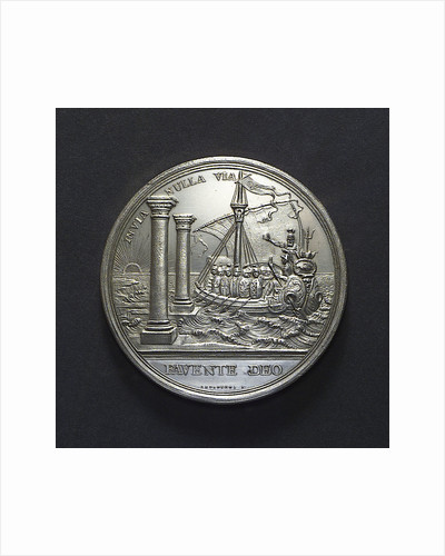 Medal commemorating the Dutch East India Company centenary, 1702; reverse by R. Arondeaux