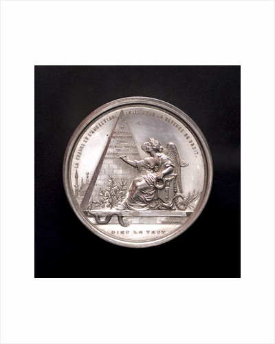 Medal commemorating the Black Sea freed, 1854; reverse by L.J. Hart