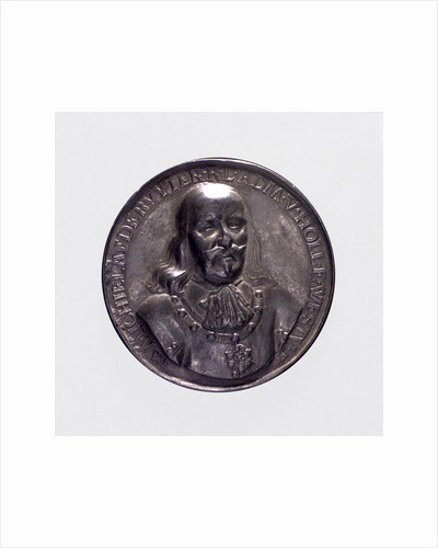 Medal commemorating the Peace of London and Admiral de Ruyter, 1674; obverse by P. van Abeele