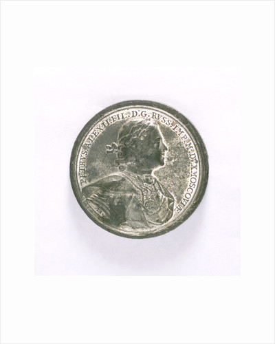 Medal commemorating the capture of Nyschlot, 1714; obverse by T. Iwanov