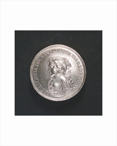 Medal commemorating the visit to Copenhagen of Princess Anna Sophia of Saxony, 1676; obverse by E.K. D