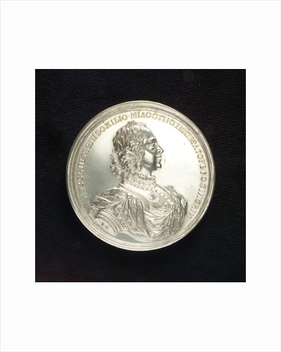 Medal commemorating the Expedition against Finland, 1713-14; obverse by T. Iwanov