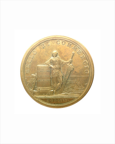 Medal commemorating the enrollment of sixty thousand seamen; reverse by J. Mauger