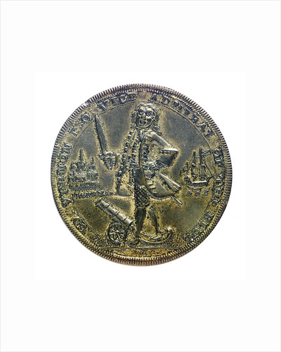 Medal commemorating Vernon's capture of Porto Bello, 1739 and proposed attack on Havana 1741; obverse by unknown