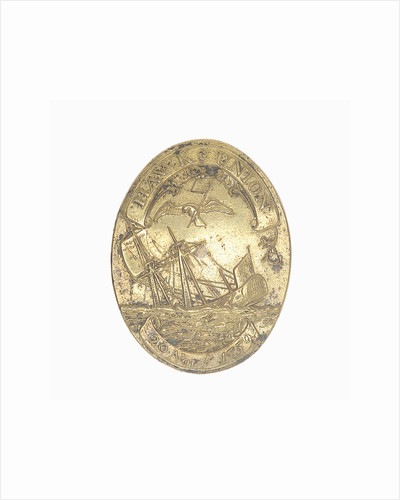 Badge commemorating the Battle of Quiberon Bay, 1759 by unknown
