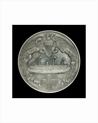 Medal commemorating AHS 'Maine' South Africa and China. 1899-1901; obverse by Tiffany & Co.