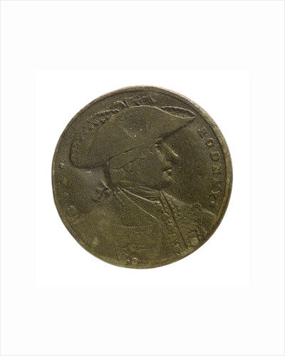 Counter commemorating the capture of St Eustatius, 1781; obverse by unknown