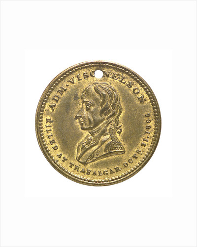 Medal commemorating Vice-Admiral Horatio Nelson (1758-1805); obverse by unknown