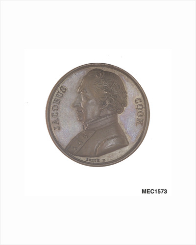 Medal commemorating Captain James Cook (1728-1779) by Smith