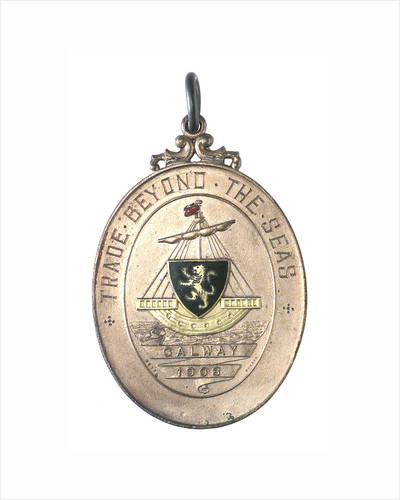 Medal commemorating trade beyond the seas; obverse by West
