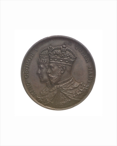 Medal commemorating the Coronation of George V, 1911; obverse by unknown