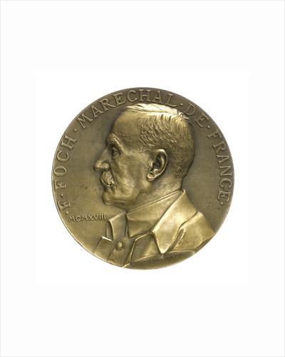 Medal commemorating the Armistice, 1918; obverse by Georges Henri Prud'homme