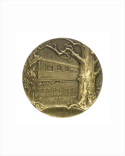 Medal commemorating the Armistice, 1918; reverse by Georges Henri Prud'homme