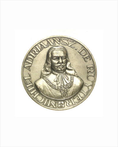Medal commemorating Admiral Michel Adrianzoon de Ruyter (1607-1676); obverse by unknown