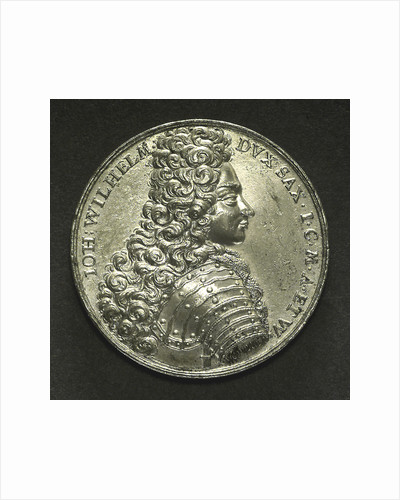 Medal commemorating the Duke of Saxony wrecked near Stockholm, 1702; obverse by C. Wermuth