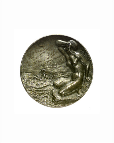 Medal commemorating the Battle of the Falkland Islands, 1914; reverse by A. L.