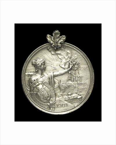 Medal commemorating the return of Count Waldersee from China, 1901; obverse by unknown