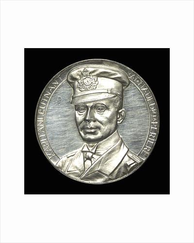 Medal commemorating Captain Lothar von Arnauld de la Perière and the submarine 'U35' by Lauer Bros.