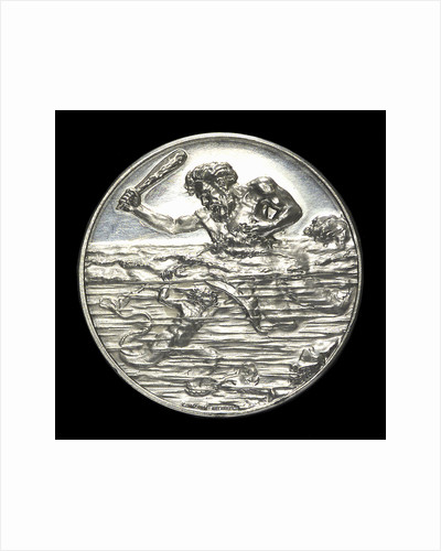 Medal commemorating the glory of the submarine; obverse by Lauer Bros.
