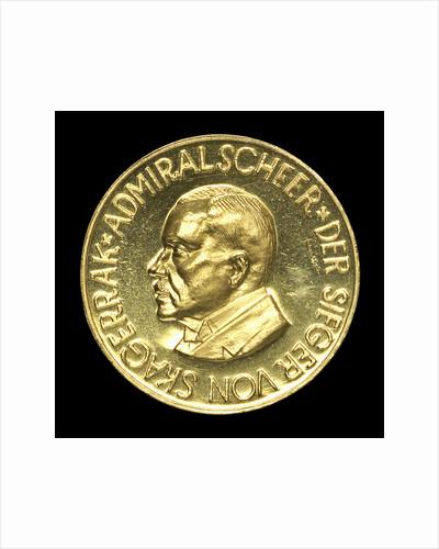 Medal commemorating Admiral Rheinhold von Scheer (1863-1928); obverse by unknown